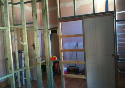 Home renovation in progress