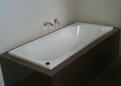 Bathtub and tiles for a client's bathroom