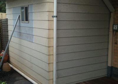 Installing wooden deck