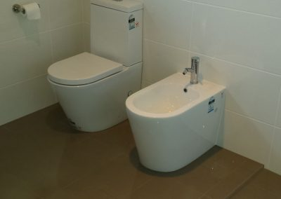 Bathroom renovation done successfully for a client
