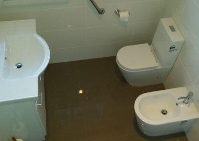 Bathroom Renovation - Altering existing plumbing to suit new fixtures in Firle