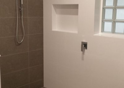 All sanitaryware supplied by Highgrove and Tiles by Newton Ceramics in Highbury