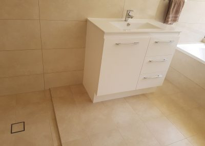 Bathroom Renovation (Tiles and Sanitary supplied by owner) in North Haven