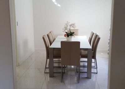 Dining Room (wall removed and tiled through main areas) in Paradise