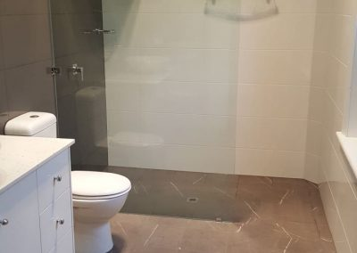 Ensuite Renovation with Walk in Shower in Prospect