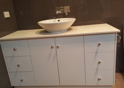 Stone Top Vanity with Bowl in Prospect