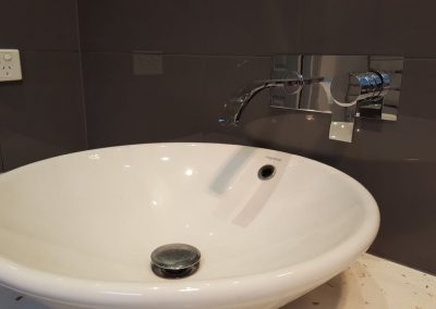Off the Wall Tapware by Plumbtec in Prospect