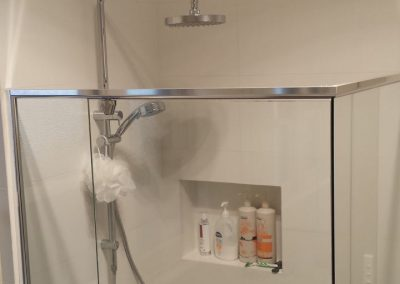 Using Semi Frameless Shower Screen from Regency Shower Screens in Rostrevor