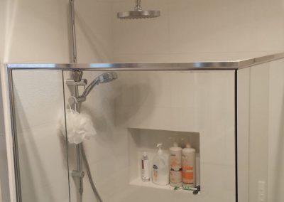 Using Semi Frameless Shower Screen from Regency Shower Screens in Rostrevor
