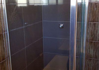 Shower Repair in progress