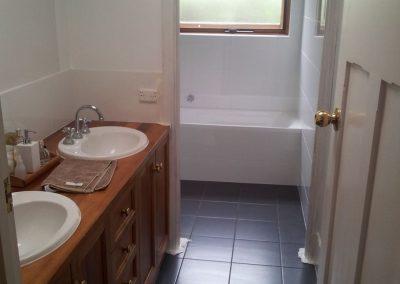 Powder Room (leading into Main Bathroom) in Unley