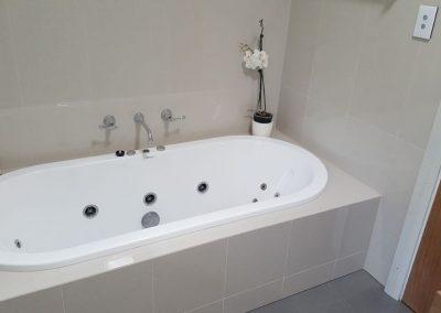 Bathroom Renovation with Spa Bath in Walkerville