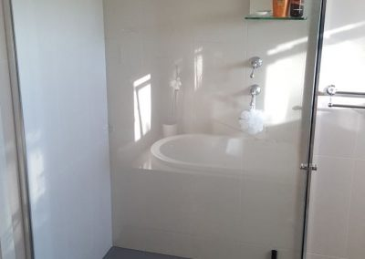Semi Frameless Shower Screen in Walkerville