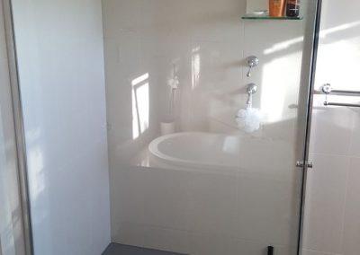 Semi Frameless Shower Screen in Walkerville